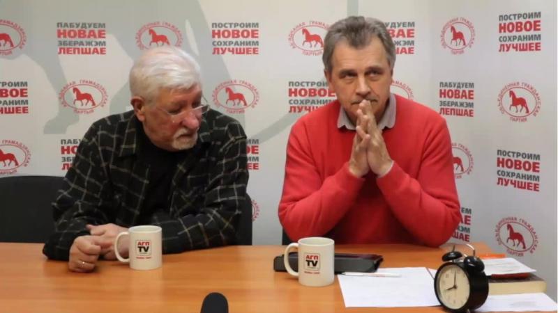 ОГП-TV в живом эфире вместе с кинорежиссером Юрием Хащеватским и Николаем Козловым.
