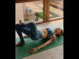 Отличные упражнения для ног и ягодиц.