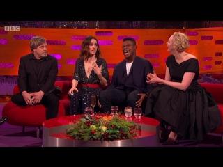 The Graham Norton Show 22x11 - Daisy Ridley, John Boyega, Gwendoline Christie, Mark Hamill, Sam Smith