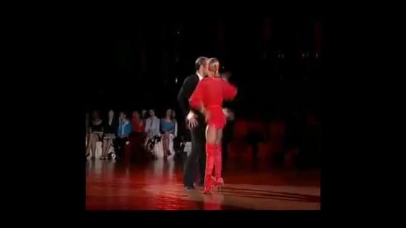 Дорогой дерзких (Рикардо Кокки и Юлия Загоруйченко - Ча-ча-ча) [360p]