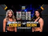 UFC 222 Ashley Yoder vs Mackenzie Dern