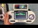 """Игра """"Super Mario World"""" на приставке SupaBoy S"""