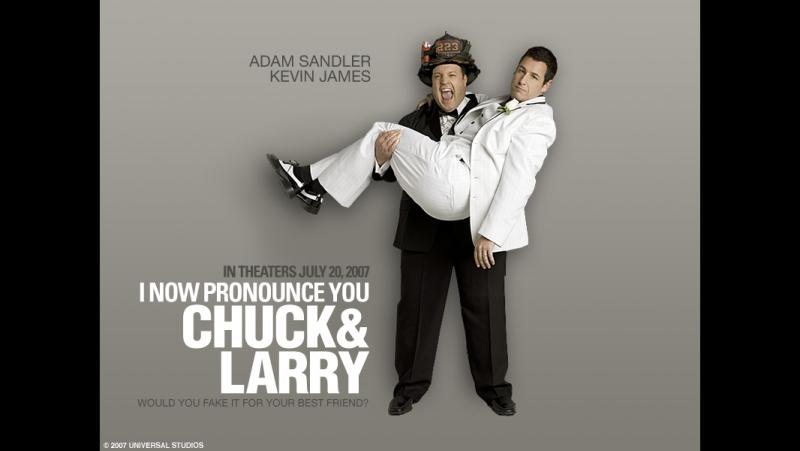 Чак и Лари пожарная свадьба 2007