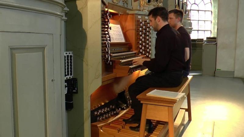 667 J. S. Bach - Chorale prelude Komm, Gott, Schöpfer, Heiliger Geist, BWV 667 - Ulf Norberg