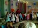 Детский сад, выпускной моей внучки.