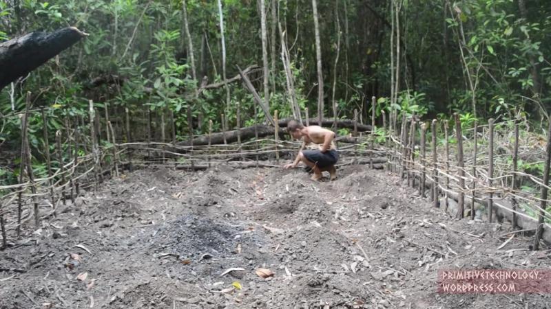 Примитивные Технологии - Посадка Маниока и Ямса (Primitive Technology - Planting Cassava and Yams)