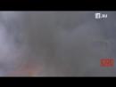Пожар на лакокрасочном заводе в Петербурге: онлайн