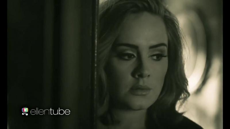 Ellen Inspired Adeles New Song