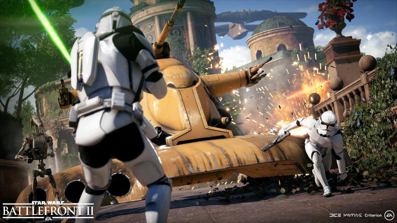 Скриншот игры STAR WARS: Battlefront II