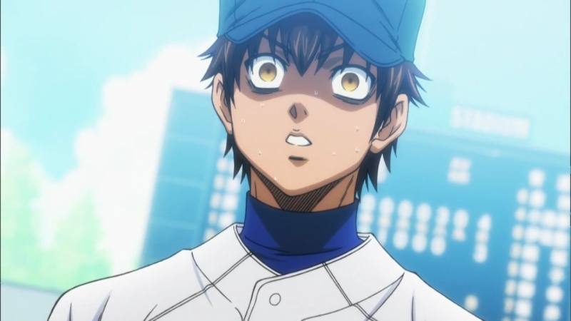 Diamond no Ace 1 Season 61 Episode (Момент 1)