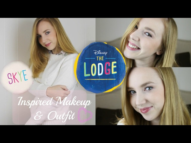 Disney's The Lodge || Skye Inspired Makeup Outfit