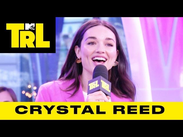 Crystal Reed Shares 'Gotham' Secrets Talks 'Teen Wolf' | Weekdays at 3:30pm | TRL