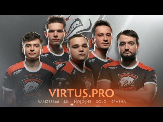 Virtus Pro Player Intro - The International 2017 Dota 2