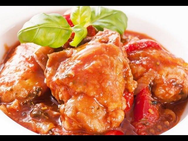 СОЧНОЕ ЧАХОХБИЛИ ИЗ КУРИЦЫ! Простой рецепт с курицей. Грузинская кухня. Georgian cuisine.
