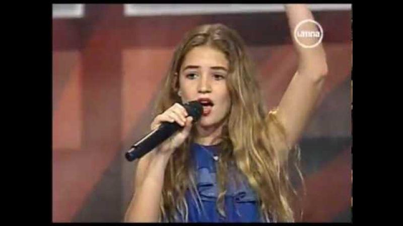 Perú Tiene Talento Niña de diez años enamora al jurado con cover de Adele 27 10 2012