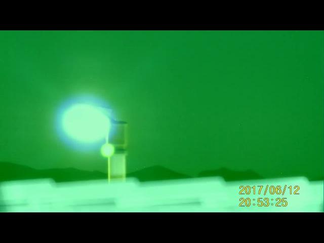 НЛО над Лас-Вегасом, штат Невада (США) 12 июня 2017 года