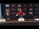 SERGEY KOVALEV VS VYACHESLAV SHABRANSKYY PRESS CONFERENCE - KOVALEV TALKS WARD AND HAVING NO COACH