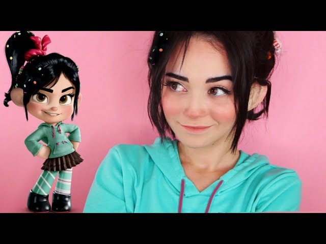 Wreck It Ralph: Vanellope Von Schweetz Transformation Makeup Tutorial