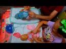 Мальчики ПРОТИВ Девочек Кто быстрее Папа с дочкой играют в куклы Беби Бон Весело...