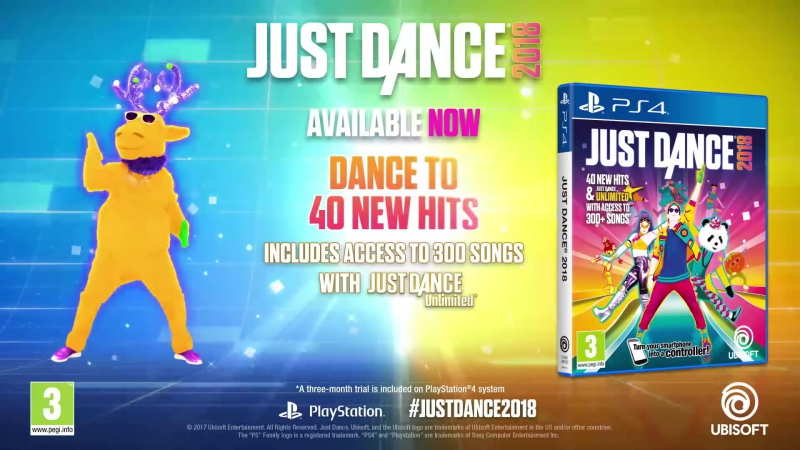 Just Dance 2018 _ Launch Trailer _ PS4_Full-HD