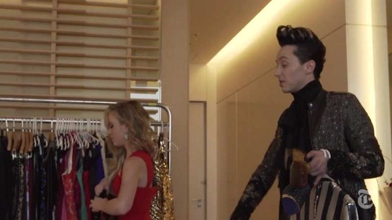 Johnny Weir's Hotel Room at the Olympics