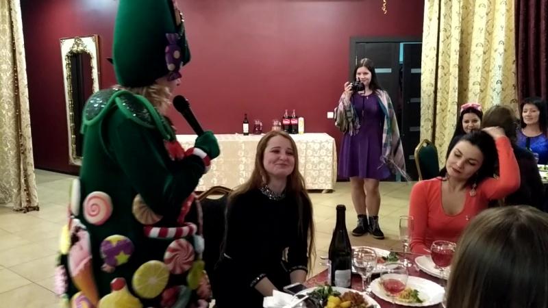 вокальный конкурс с новогодней вечеринки Файмарис