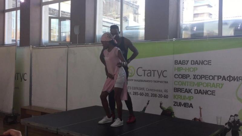 Адонис Сантьяго и Аннелис Перес, тимба @ Afro-Cuban Dance Weekend, Новосибирск