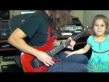 This is what happens when I try to play guitar at home. (Kiko Loureiro)