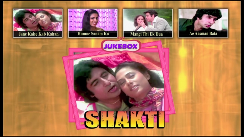 Shakti 1982 Full Video Songs Amitabh Bachchan Dilip Kumar Rakhee