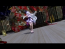 【MMD・TDA】『極楽浄土』【1440p-60fps or WQHD】Short Kimono Haku