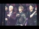 VK171129 MONSTA X Reaction to Seventeens Performance fancam I.M focus @ Mnet Asian Music Awards 2017