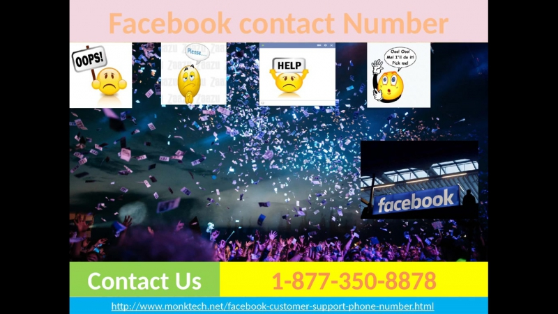 Facebook Contact Number 1-877-350-8878- a channel towards determination for CANADA and USA