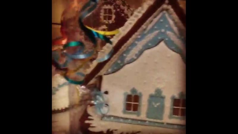 Пряничные домики из чайной в скиту Саввы Сторожевского