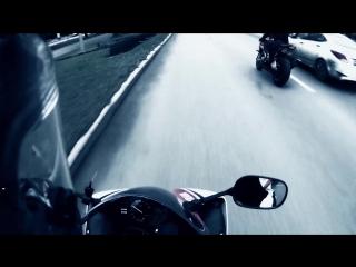 Катаем-Yamaxa r1 & BMW S1000r -хай сайд (ноябрь 2017)