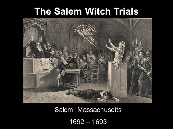 the unheard voices of women during the witch hysteria in salem massachusetts Proceeding that took place during the salem witch the women and men executed in the 1692 witch witch hysteria, the city of salem, massachusetts.