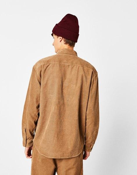 Рубашка из вельвета