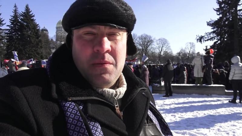 Люди вышли в знак протеста. НОВЫЙ ЗАКОН ЗАПРЕЩАЕТ ГОВОРИТЬ И УЧИТЬСЯ НА РУССКОМ ЯЗЫКЕ. ПРАВИТЕЛЬСТВО В ОТСТАВКУ.