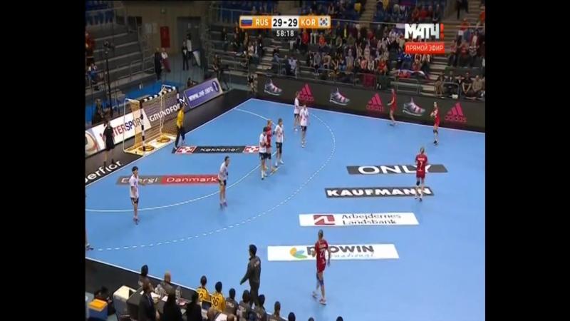 Трудная победа женской сборной России по гандболу на ЧМ
