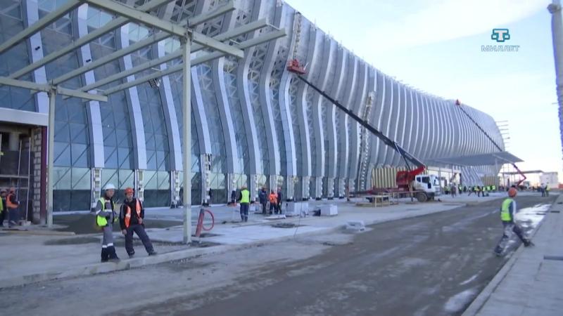 Новый терминал аэропорта «Симферополь», Крымский мост и трасса «Таврида»