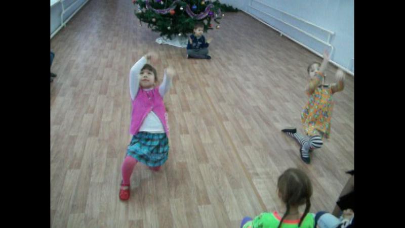 Танец Восточных красавиц (прощание с ёлкой).