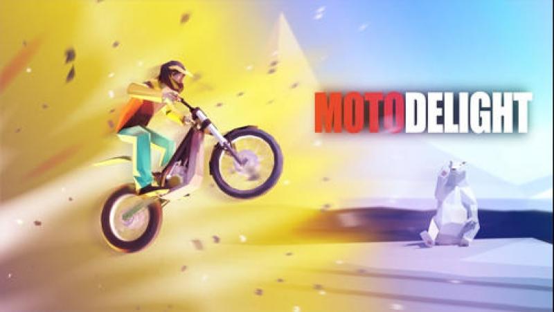 Поляковский Летсплей😻 Moto Delight🚵 Трюки на мото