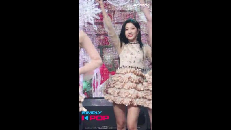171215 [Индивидуальный фанкам - Еин] Lovelyz - Twinkle @ Simply K-Pop