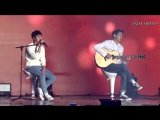 151010 EXO D.O. ft. Chanyeol - Boyfriend (Live)
