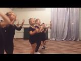 Детские танцы. Елизавета Пирожкова
