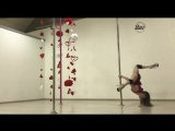Анастасия Рагуева. Exotic pole dance | Kats dance studio