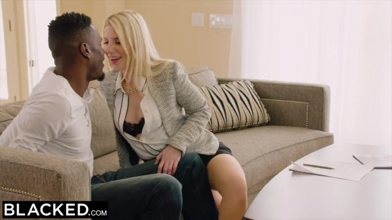 BLACKED Hot Nympho Cant Keep Her Hands Off The