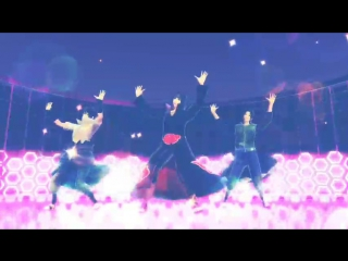 [MMD x naruto] Gentleman [Uchiha family].mp4