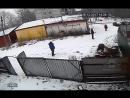 Жестокое нападение на человека в деревне Низино