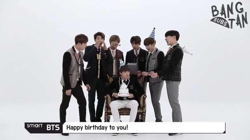 131017 [ENG] 171013 [Smart TV Ch.BTS] Happy Birthday