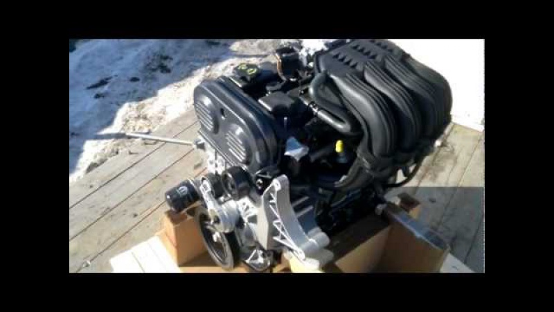 Двигатель Chrysler 2.4L в сборе на ам Волга и ГАЗель
